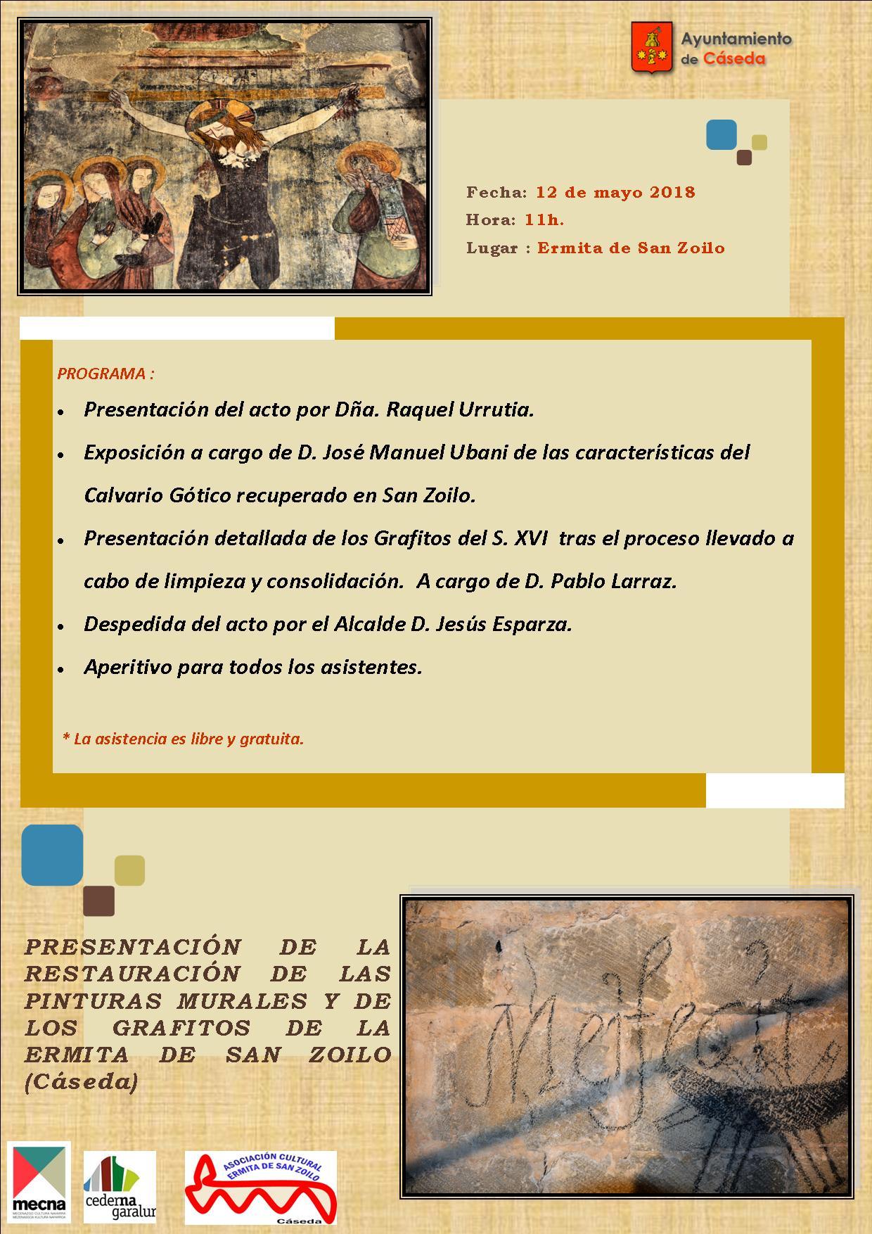 Presentación al público de la restauración