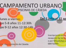 CAMPAMENTO URBANO PISCINAS DE CASEDA